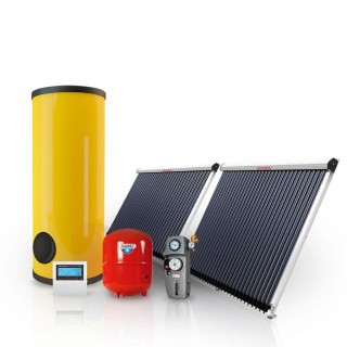 Готовый комплект гелиосистема Атмосфера VAC-500 литров