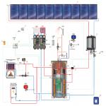 Гелиосистема HUCH ENTEC FKF10/600