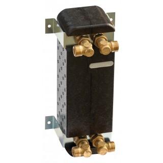 Теплообменник с изоляцией IC8T-24 24 нержавеющих пластин 30 кВт