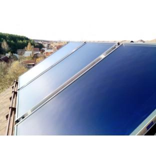 Монтаж плоских солнечных коллекторов FKHE 2.01 MS