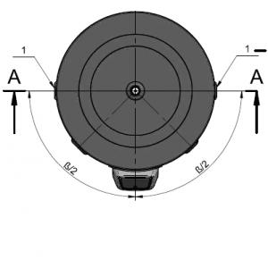 Водонагреватель напольный, емкостный электрический бойлер Parpol V 1500