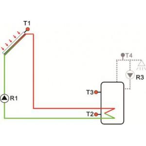 Контроллер солнечного коллектора SR288