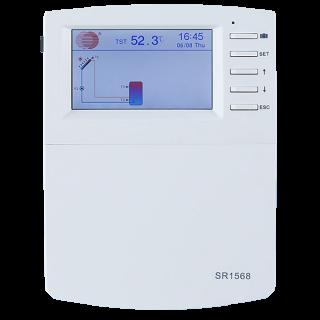 Контроллер SR1568 для гелиосистемы, солнечного коллектора