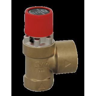Мембранный предохранительный клапан SYR 1915 3 Бар для котла и системы отопления