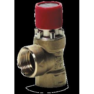 Мембранный предохранительный клапан SYR 1917 DN15 3 Бар для отопительных систем