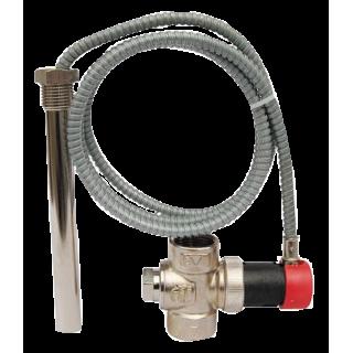 Термический предохранительный клапан SYR 3065 DN20 для твердотопливных котлов и систем отопления