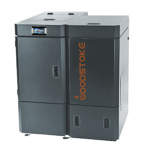 Пеллетный котел Woodstoke 20 кВт с автоматической подачей топлива