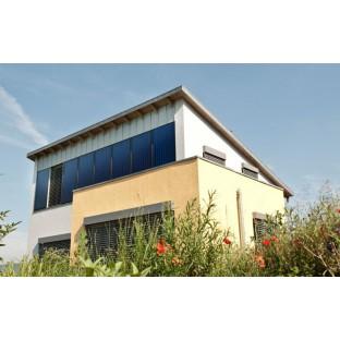 Как спроектировать дом с 85% солнечным отоплением?