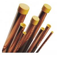 Труба медная DN 28 1,0 EN 12735-01 для тепло-водоснабжения (в прямых отрезках по 4 м)